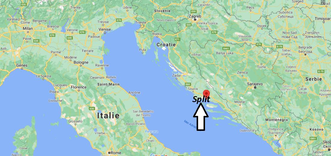 Où se trouve Split