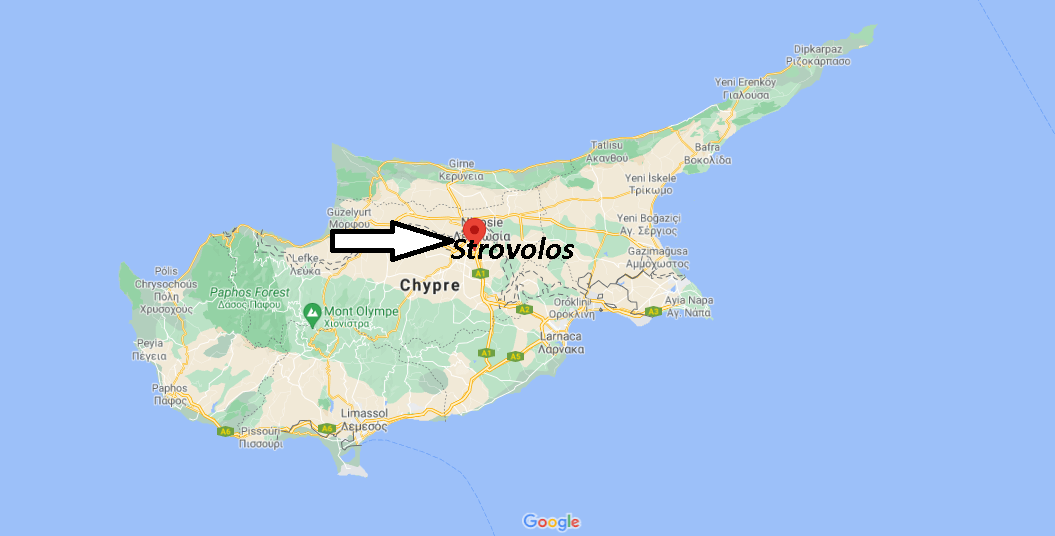 Où se trouve Strovolos