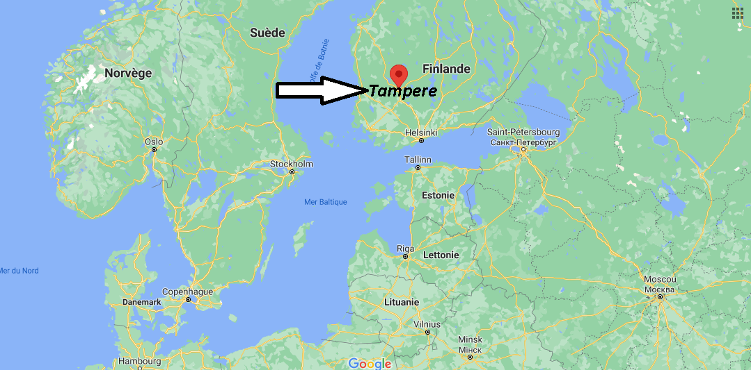 Où se trouve Tampere