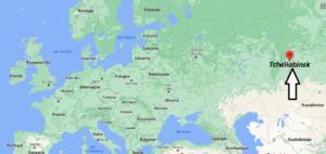 Où se trouve Tcheliabinsk