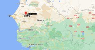 Où se trouve Touba