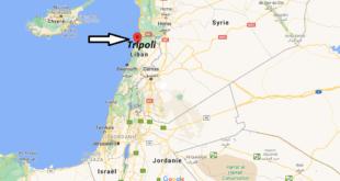 Où se trouve Tripoli