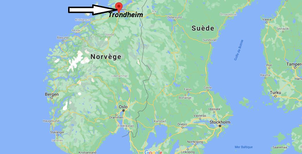 Où se trouve Trondheim