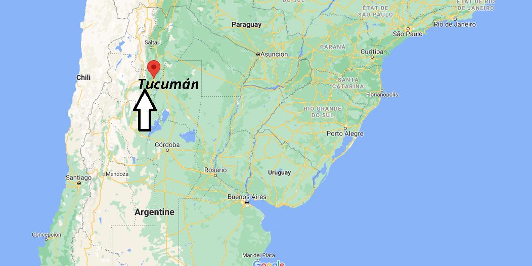 Où se trouve Tucumán