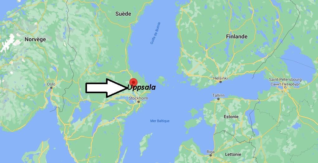 Où se trouve Uppsala