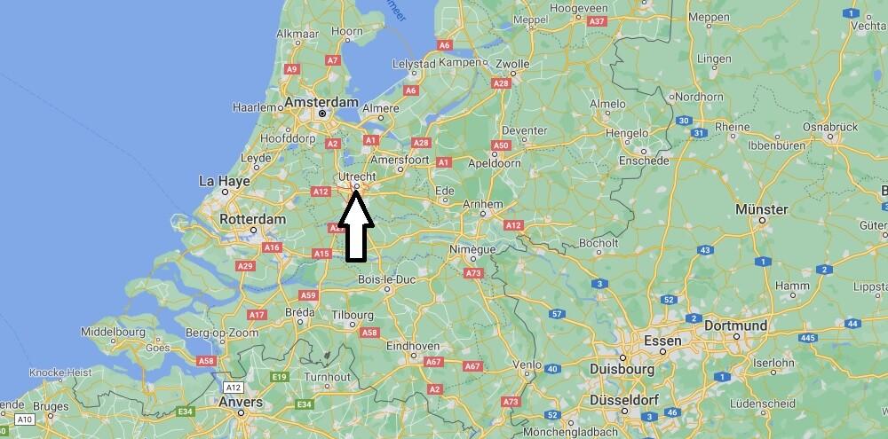 Où se trouve Utrecht