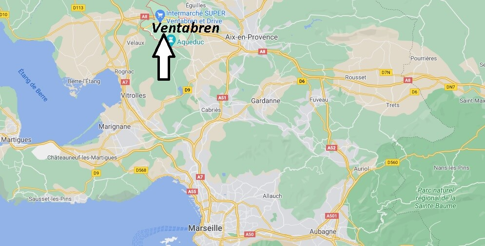 Où se trouve Ventabren