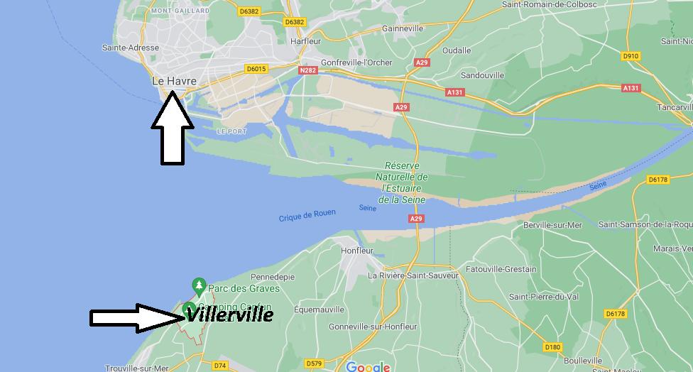 Où se trouve Villerville