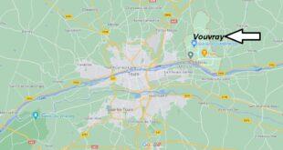 Où se trouve Vouvray