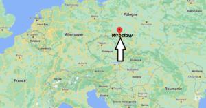 Où se trouve Wrocław