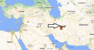 Où se trouve Yazd