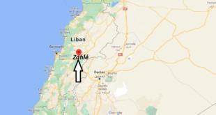 Où se trouve Zahlé