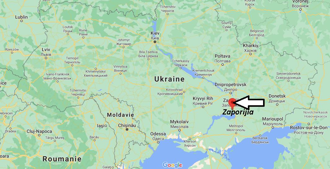 Où se trouve Zaporijia