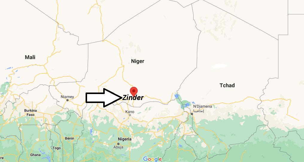 Où se trouve Zinder