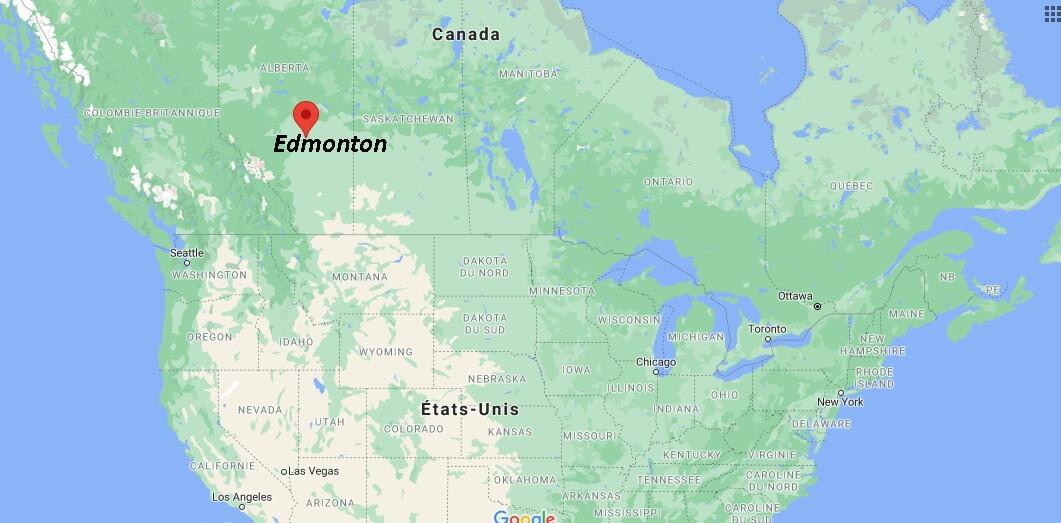 Où se trouve la ville de Edmonton au Canada