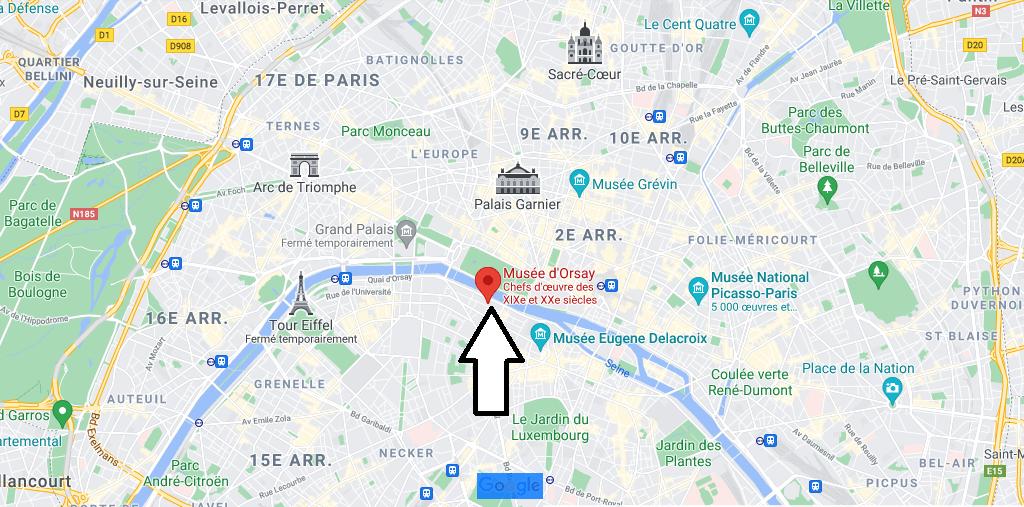 Où se trouve le Musée d-Orsay