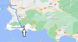 Où se trouve les Calanques de Marseille