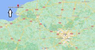 Où se trouve les Falaises d-Etretat