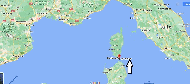 Où se trouve les îles Lavezzi