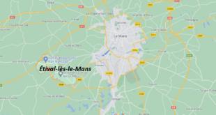 Où se situe Étival-lès-le-Mans (72700)