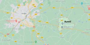 Dans quelle région se trouve Aureil