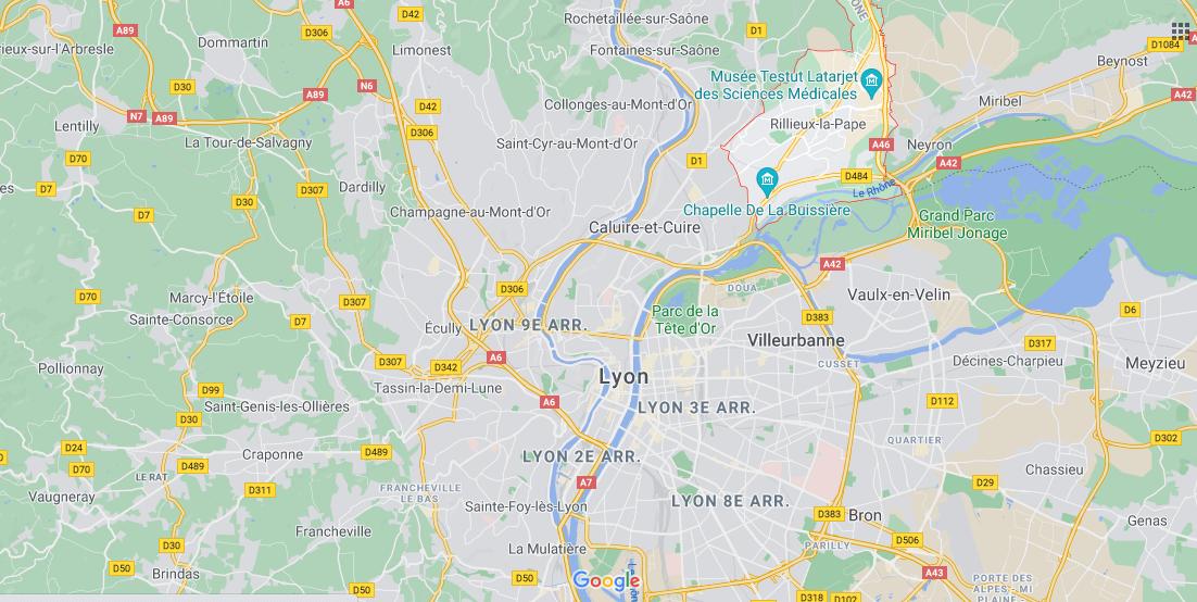 Dans quelle région se trouve Rillieux-la-Pape