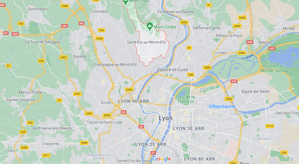Dans quelle région se trouve Saint-Cyr-au-Mont-d-Or