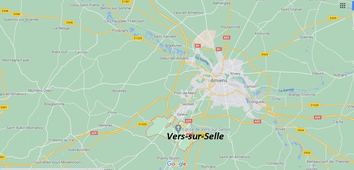 Dans quelle région se trouve Vers-sur-Selle