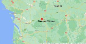 Où se situe Aixe-sur-Vienne (Code postal 87700)