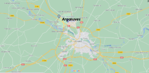 Où se situe Argœuves (Code postal 80730)