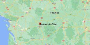 Où se situe Bonnac-la-Côte (Code postal 87270)
