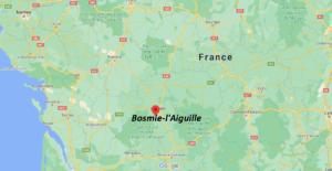 Où se situe Bosmie-l-Aiguille (Code postal 87110)