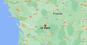 Où se situe Le Vigen (Code postal 87110)