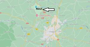 Où se situe Nieul (Code postal 87510)