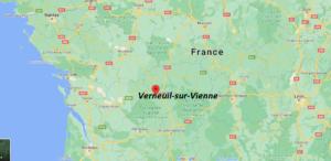 Où se situe Verneuil-sur-Vienne (Code postal 87430)