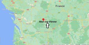 Où se trouve Aixe-sur-Vienne