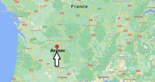 Où se trouve Beynac