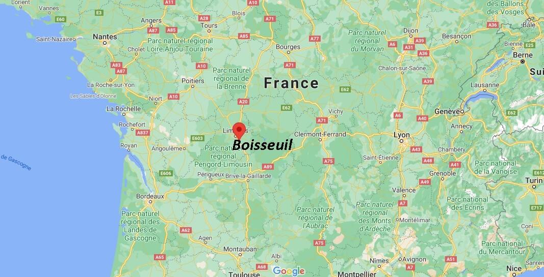 Où se trouve Boisseuil