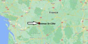 Où se trouve Bonnac-la-Côte