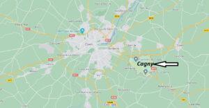 Où se trouve Cagny