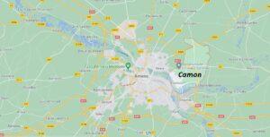 Où se trouve Camon