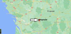 Où se trouve Chaptelat