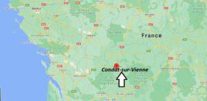 Où se trouve Condat-sur-Vienne