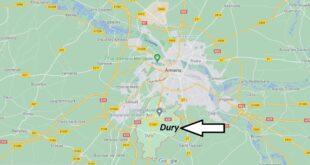 Où se trouve Dury