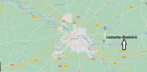Où se trouve Lamotte-Brebière
