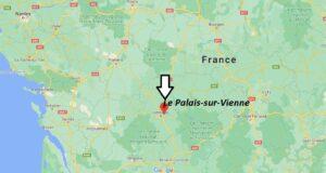 Où se trouve Le Palais-sur-Vienne