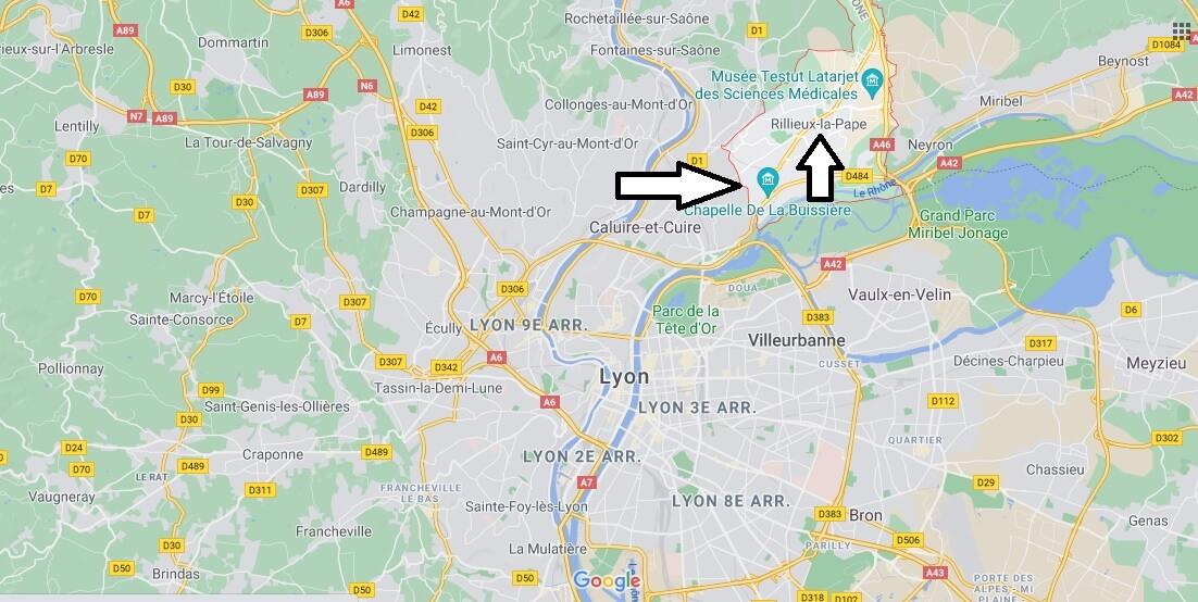 Où se trouve Rillieux-la-Pape