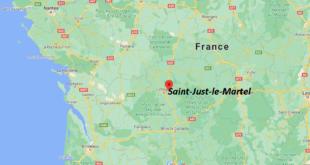 Où se trouve Saint-Just-le-Martel