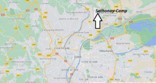 Où se trouve Sathonay-Camp