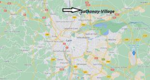 Où se trouve Sathonay-Village